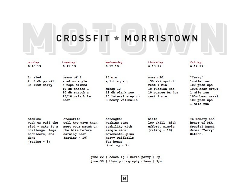 motownmenu6 10 – CrossFit Morristown